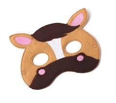 kids horse mask pony horse costume felt mask kids face
