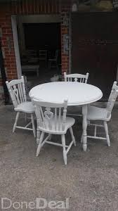Painted Kitchen Table And Chairs by 29 Best Tables Chairs Benches Images On Pinterest Benches