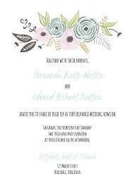 Wedding Card Examples 523 Free Wedding Invitation Templates You Can Customize