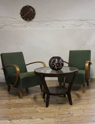 Art Deco Furniture Designers by Pair Art Deco Chairs Up Rousinov Designer J Halabala
