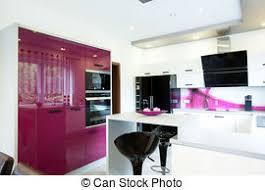 cuisine pourpre hi tek porte moderne cuisine coutume four ouvert photos
