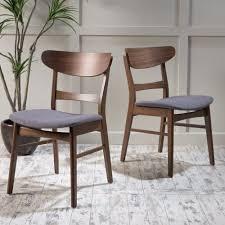 Black Walnut Dining Chairs Dining Chairs Walnut Finish Mid Century Modern Walnut Dining