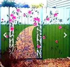 Garden Mural Ideas Garden Murals Tropical Garden Mural Outdoor Garden Wall Murals