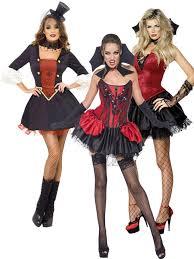 ladies gothic vampire fancy dress costume vamp halloween