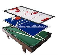 3 in 1 air hockey table 3 in 1 multifunction game table multi function table game 3 in 1