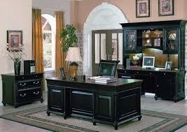Black Home Office Desks Black Office Furniture Uv Furniture