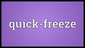 design freeze meaning quick freeze meaning youtube