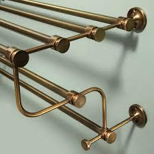 randolph towel rack antique brass soho home