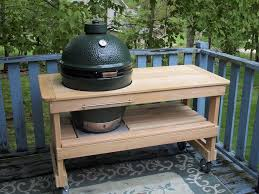 Ebay Used Kitchen Cabinets For Sale Big Green Egg Table Made By Bge Tables4less On Ebay Grilling