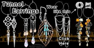 cool dangle earrings piercing fashion flash cool witch house style bodycandy