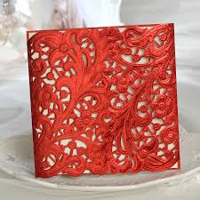 Buy Invitation Cards Aliexpress Com Buy Gorgeous Laser Cut Lace Cut Out Wedding