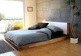 floor level bed 5 low bed designs for modern and contemporary homes view in gallery