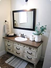 Dresser Turned Bathroom Vanity Old Dresser Turned Into A Sink Great Old House Remodel Option