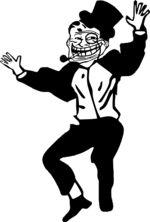 Dancing Troll Meme - troll dad dance emoticon emoticons and smileys for facebook msn