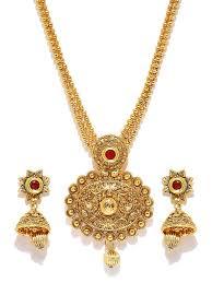 pendant necklace online images Buy zaveri pearls long designer necklace set for women zpfk4414 jpg