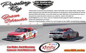 paint schemes paint schemes old bastards racing league