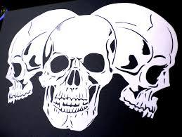 skull stencil airbrushes ebay