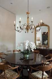 Dining Room Candle Chandelier Leopard Print Dining Cahirs Dining Room