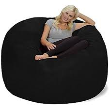 amazon com take ten large 50 u201d luxury bean bag chair u2013 multiple