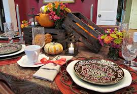 whoooo s coming for thanksgiving table setting