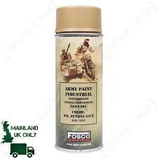 army spray paint dark yellow epic militaria
