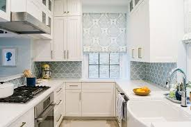 blue kitchen backsplash blue kitchen backsplash tiles with white cabinets contemporary blue