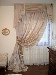 tende con mantovana per cucina gallery of tende da letto classica seta broccato pizzo