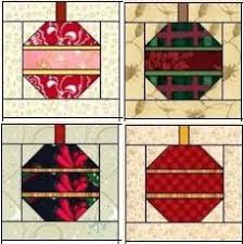 the ornament quilt block