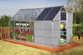 Hobby Greenhouses Grow And Store 6 X 12 Hobby Greenhouse Kit Pol Hg5112 1 199 00