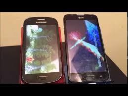 galaxy light metro pcs metropcs galaxy light vs lg optimus l70 benchmarks youtube