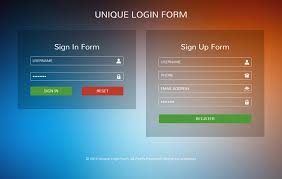 Template For Login Form by Unique Login Form Flat Responsive Widget Template