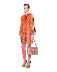 orange dress dresses gucci women shop gucci