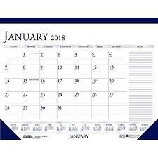 cool desk pad calendars amazon com at a glance desk pad calendar 2018 sk2400 monthly