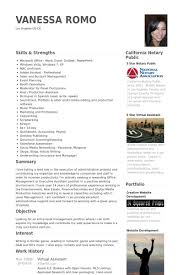 Assistant Resume Examples Virtual Assistant Resume Samples Visualcv Resume Samples Database
