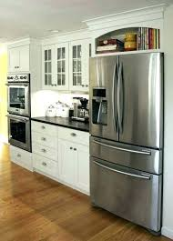 cabinet enclosure for refrigerator cabinet over refrigerator vanpoolusa com