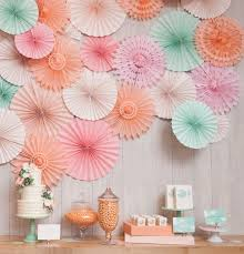 wedding paper fans aliexpress buy 2016 new 5pcs lot 8 inch 20cm tissue paper