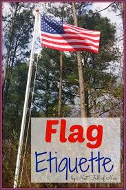 Hanging Flag Upside Down American Flag Etiquette Nest Full Of New