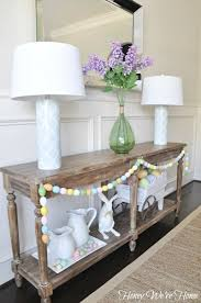 Easter Spring Decorating by Home Fashion Easter U0026 Spring Decor In The Dining Room