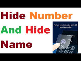 how to hide number on android how to hide incoming call name and number in