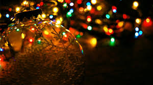 String Christmas Tree Lights by String Of Christmas Tree Lights Wallpaper