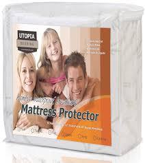 home design waterproof mattress pad reviews amazon com waterproof bamboo mattress protector hypoallergenic