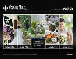 wedding planner website planner html5 template