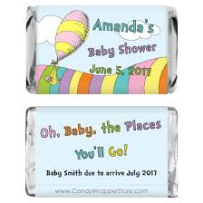 oh baby the places you ll go miniature oh the places you ll go baby shower candy wrapper