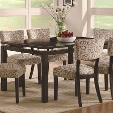 coaster dining room sets coaster round glass dining table counter height and chairs formal