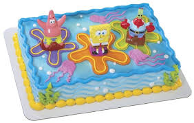 spongebob cake toppers spongebob birthday cakes ideas best birthday cakes