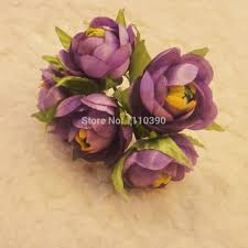 3cm silk flowers bouquets artificial peach roses blossom peach