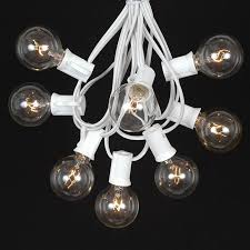 clear c7 outdoor christmas light string sets novelty lights inc