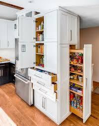 küche offen einen funktionalen raum gestalten mit apothekerschrank für küche