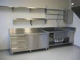 Stainless Steel Kitchen Cabinet Doors Stainless Steel Kitchen Cabinets For Family And Restaurant