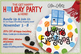 happy everything plates join us for the coton colors party nov 3 8 s